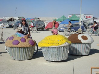 Cup Cake Carts re grouping burning man 2007