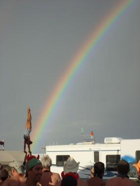 Starlet Girl Friday rainbows BM 2007 Camp Audrey